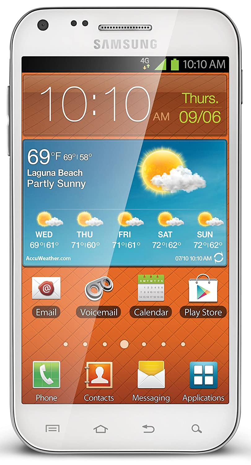Camera Boost Mobile Android Phones For Sale amazon com samsung galaxy s ii white boost mobile cell phones accessories