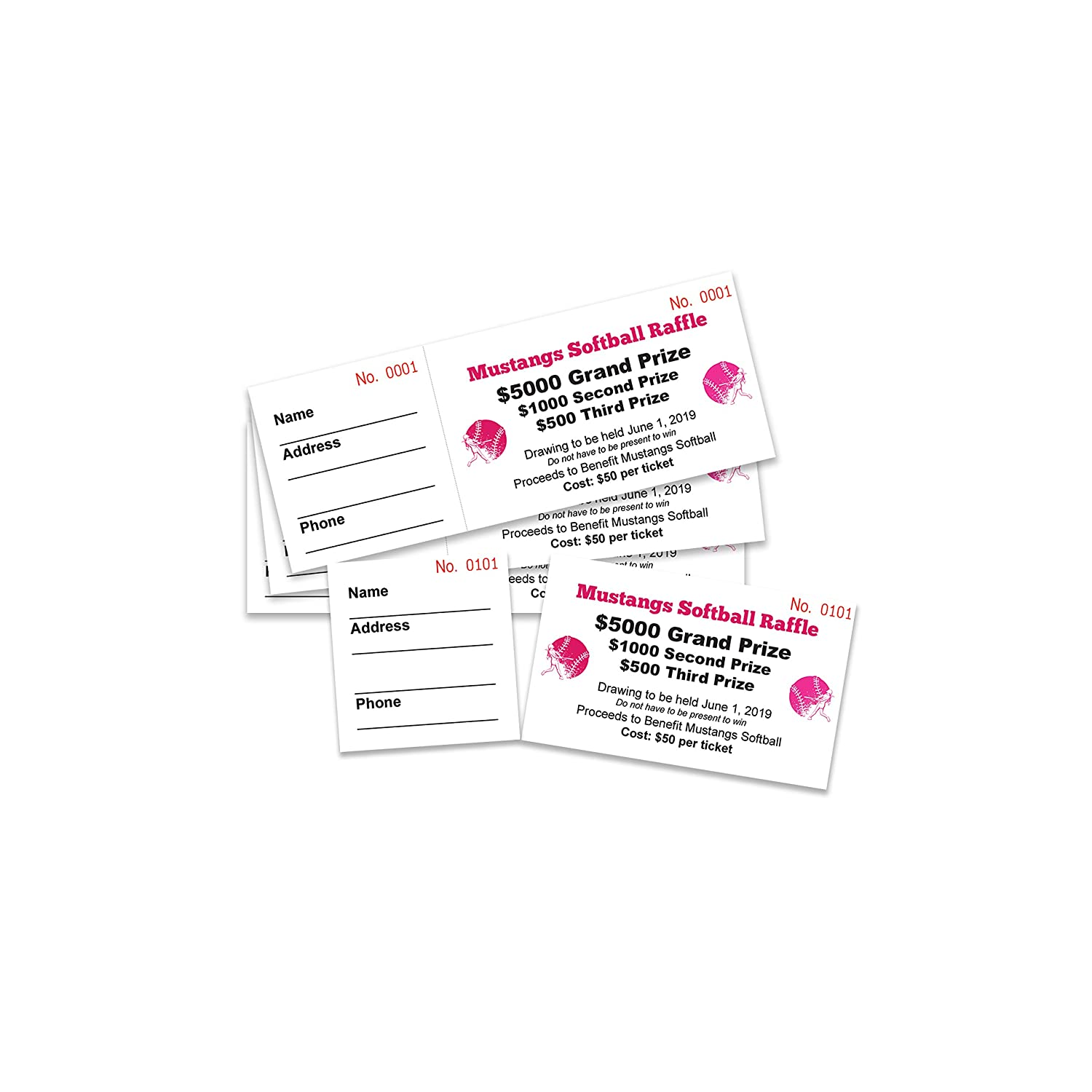 printworks perforated paper for raffle tickets coupons and more