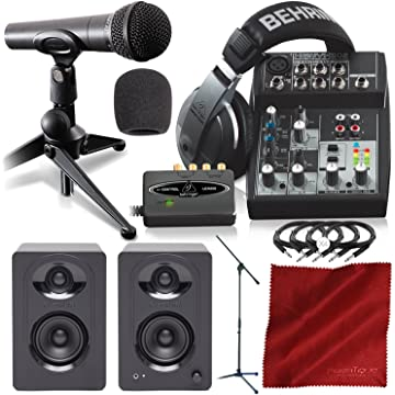 best Behringer Podcaster Bundle reviews