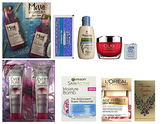 Women's Daily Beauty Sample Bo...