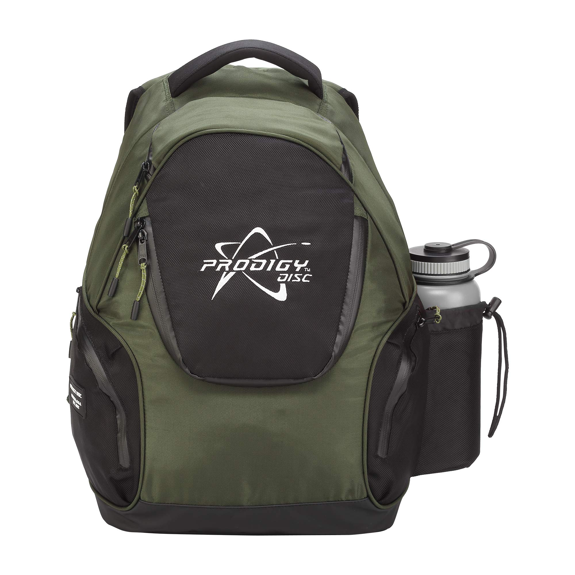 Prodigy Disc BP-3 V2 Disc Golf Backpack - Fits 17 Discs - Beginner Friendly, Affordable (Green/Black) by Prodigy Disc (Image #4)