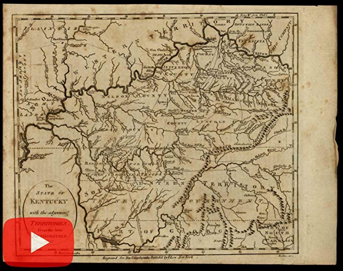 Amazon.com: Kentucky 1800 Tennessee Government North West Territory ...