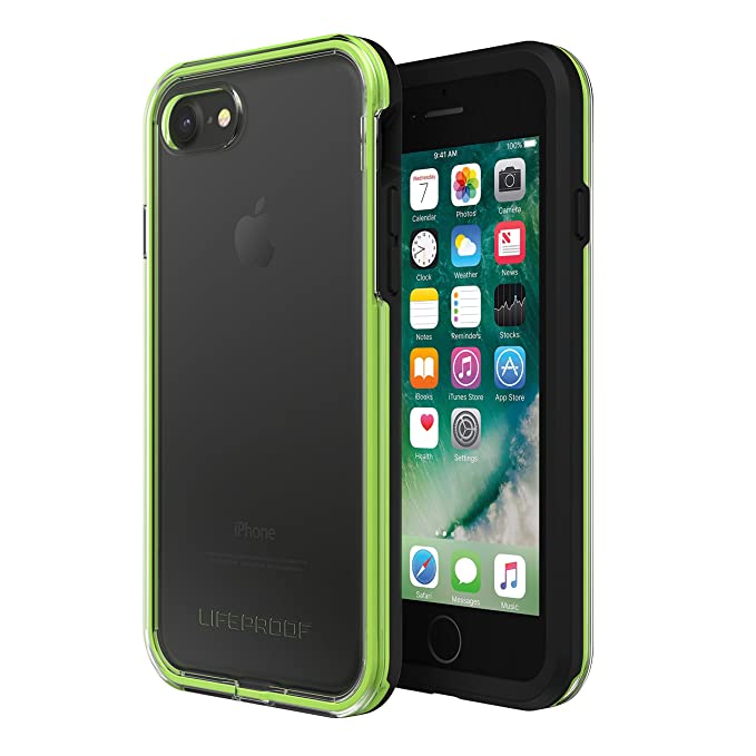 online retailer a985c b12a5 Lifeproof Slam Water Resistant Case For Apple Iphone 7 / Iphone 8 NIGHT  FLASH (CLEAR / LIME / BLACK)