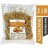 Beyond Nature, [Vacuum Sealed] Organic California Grown Raw Walnuts, 2 LB