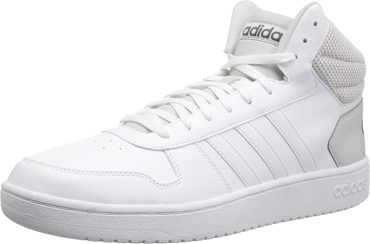 Details about Adidas Hoops 2.0 Mid Cut Shoes Men Mens High