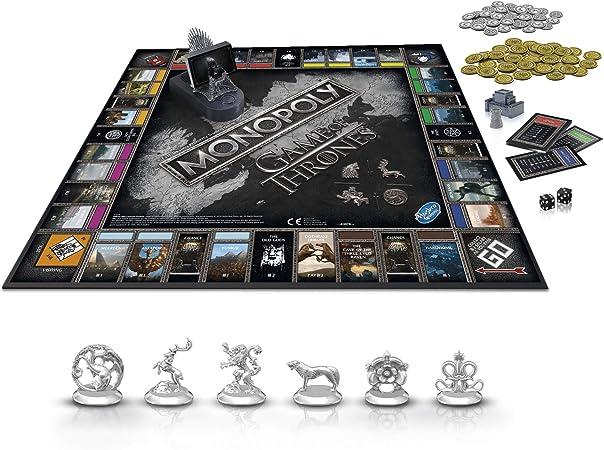 Monopoly E3278102 Juego de Mesa Juego de Tronos: Amazon.es: Juguetes y juegos