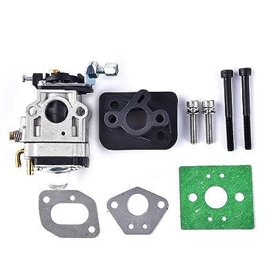 15mm Carburetor for 47cc 49cc 2 Stroke Mini Pocket Bike Quad Chopper Scooter Engine: Automotive