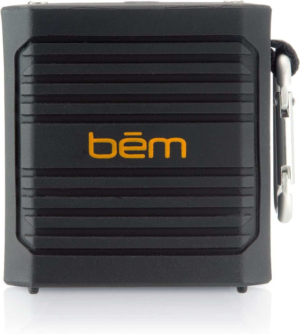 Waterproof Bem EXO-400 Bluetooth Speaker with Metal Clip for Outdoor Enthusiasts Rugged
