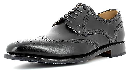 Gordon & Bros Milan 5661 Flex G - Botines Chukka de Piel Hombre, Color Negro
