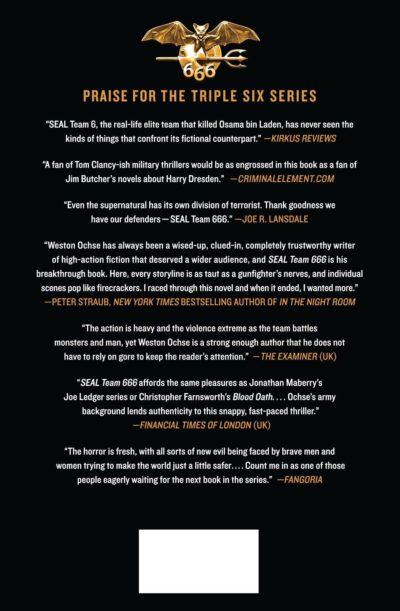 Amazon.com: Reign of Evil: A SEAL Team 666 Novel (9781250056009): Weston  Ochse: Books