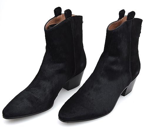 Twin-Set Botines TEXANO EN EL Tobillo para Mujer Negro Art. CA6PCS 38 Nero - Black: Amazon.es: Zapatos y complementos