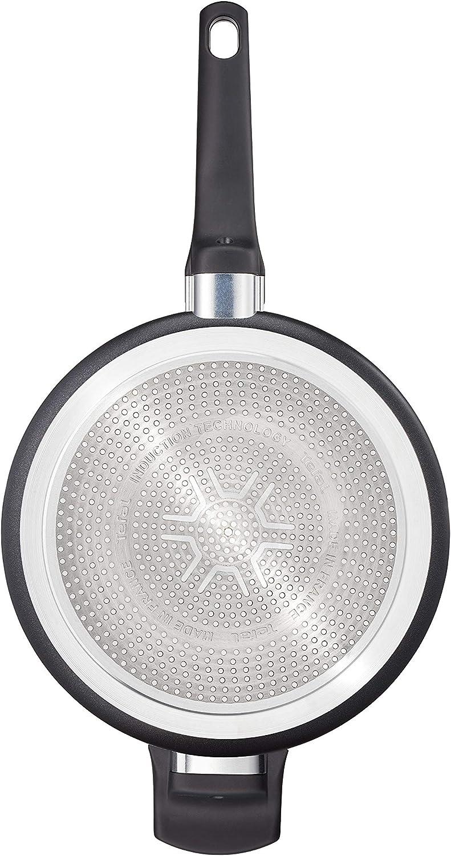 20 cm, Aluminium, Empfohlen von Star-Koch Steffen Henssler Tefal G10702 So Tough Bratpfanne schwarz