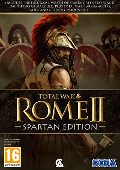 Total War Rome 2: Spartan Edition (PC) UK IMPORT