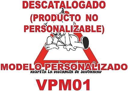 Pegatina bebé a bordo personalizada VPC01-2C. DISEÑADO, VENDIDO Y ENVIADO POR VPM ORIGINAL. 100% PRODUCTO ESPAÑOL. NO COMPRAR AL VENDEDOR ...