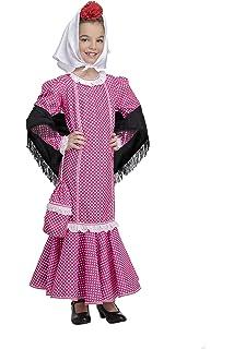 My Other Me Me - Disfraz de madrileña para niña, talla 5-6 ...