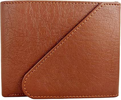 YGREEN Synthetic Leather Men's Wallet  Tan