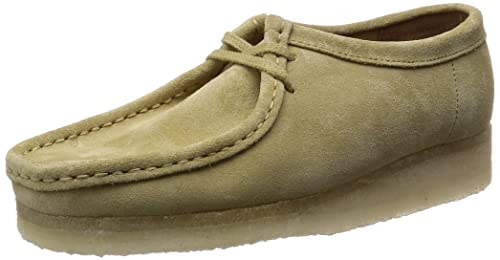 3bb713ac0a3 Clarks Originals Wallabee, Women's Lace-Up Shoes, Beige (Maple Suede ...