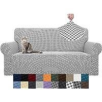 YEMYHOM Funda de sofá con diseño de jacquard de última generación Fundas de sofá extragrandes de gran elasticidad para…
