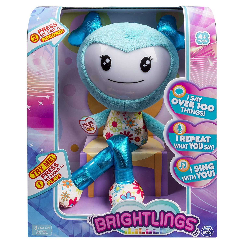 Brightlings Interactive Teal Brightlings Singing B077PJLZQZ Talking 15 Plush Teal by Spin Master [並行輸入品] B077PJLZQZ, 京都宇治 辻利兵衛本店:07a8ad62 --- infinnate.ro
