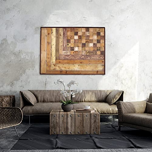 Reclaimed Wood Art A 331 Holz Wand Kunst Zurückgefordert Holz