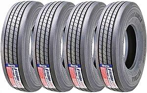 Set of 4 New Heavy Duty All Steel ST235/85R16-14PR TL Trailer Tire