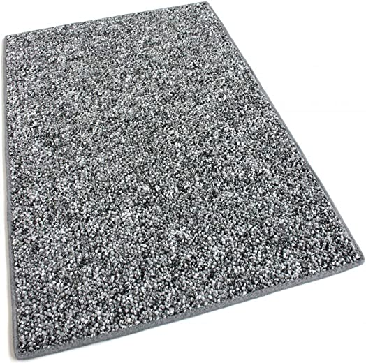 Koeckritz 8 x10 – Oreo – Indoor Outdoor Area Rug Carpet, Runners Stair Treads with a Premium Nylon Fabric Finished Edges.