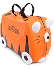Trunki The Original Ride-On Suitcase New, Tipu Tiger (Orange)