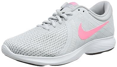 new arrival a15bf 919c8 Nike WMNS Revolution 4 EU, Chaussures de Running Femme, (Pure Gris Platinum