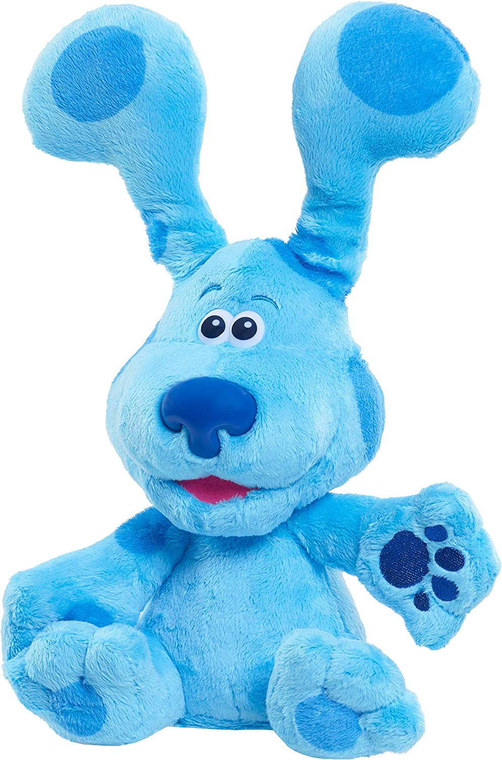 Blues Clues /& You BLUE /& MAGENTA Plush Stuffed Puppy Dogs New Nick Jr Toys
