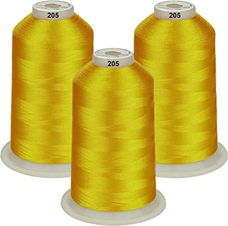 26 Selections Skins Color Simthread Various Assorted Color Packs of Polyester Embroidery Machine Thread Huge Spool 5500Y for Sewing Embroidery Machines