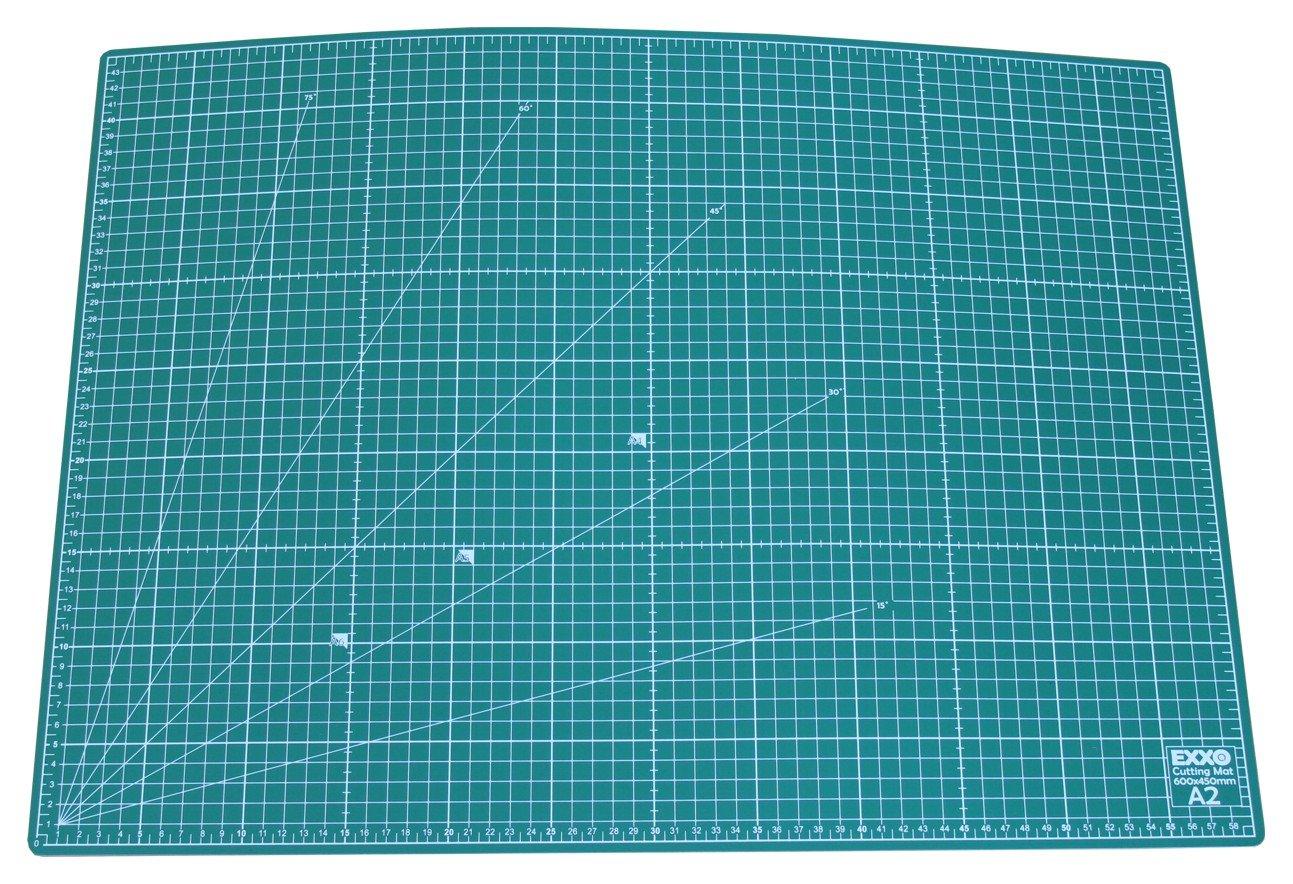 verde 300x220mm 5-strati e rigenerante Tappetino di taglio EXXO//taglio Mat A5