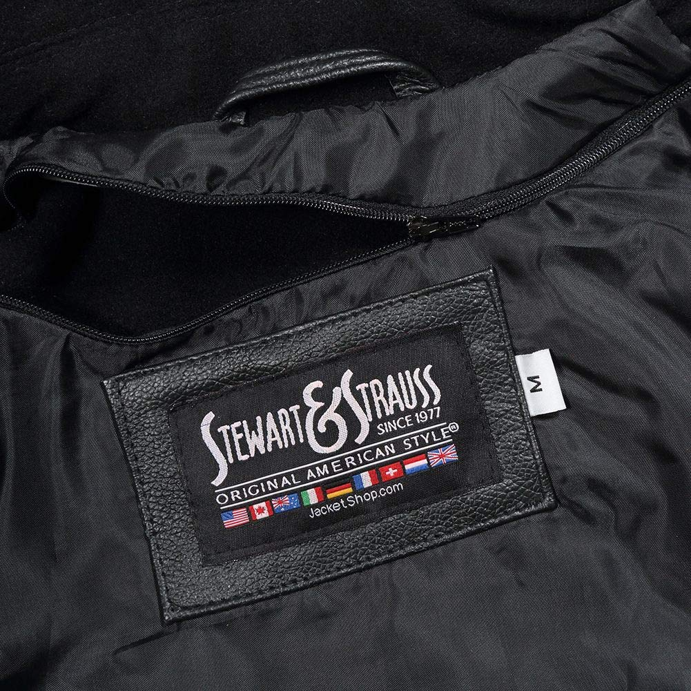 Amazon.com: Stewart & Strauss Varsity - Chaqueta de letras ...