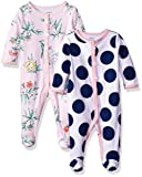 Carter's Baby Girls' 2-Pack Cotton Sleep and