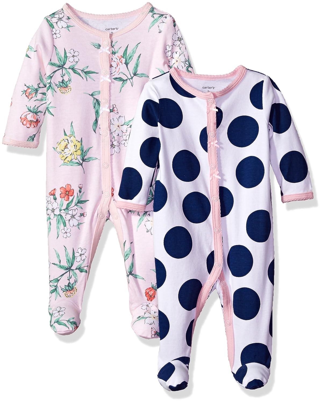 最高の品質 Carter's SHIRT B0731YDJTV ベビーガールズ B0731YDJTV Blue Dot/Pink SHIRT Dot/Pink Floral ベビー ベビー|Blue Dot/Pink Floral|6 Months, 横浜市:50af7738 --- martinemoeykens.com