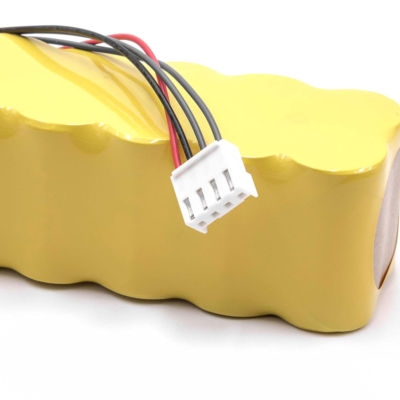 vhbw NiMH batería 3000mAh (14.4V) para robot limpiasuelos robot autónomo de limpieza Mamirobot 416, 461, K3, K5, K7, KF5, KF7: Amazon.es: Hogar