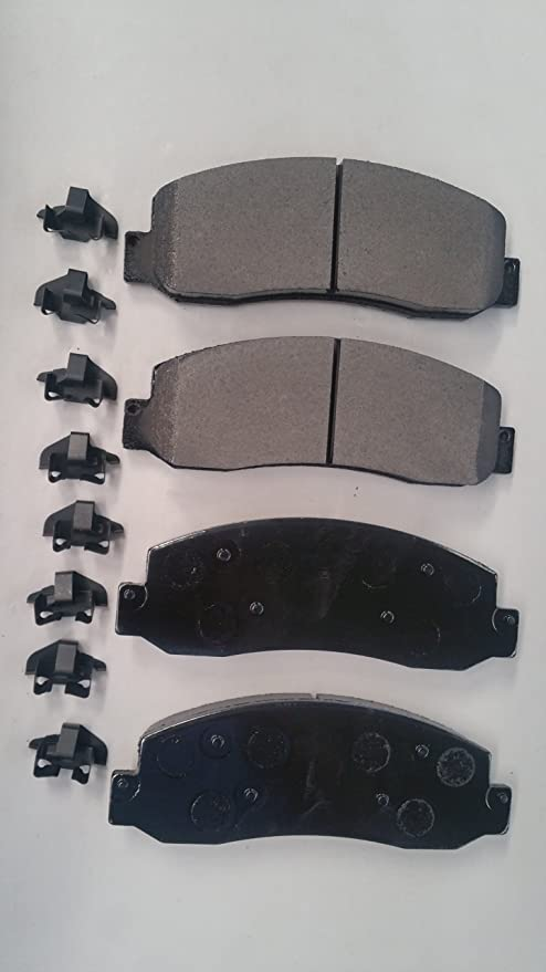 SMD1647 Semi Metallic Disc Brake Pads Set Stirling Both Left and Right - Rear
