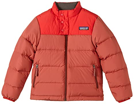 best website d79a6 98f68 Patagonia, Piumino Bambino, Rosso (Rusted Iron), XS: Amazon ...