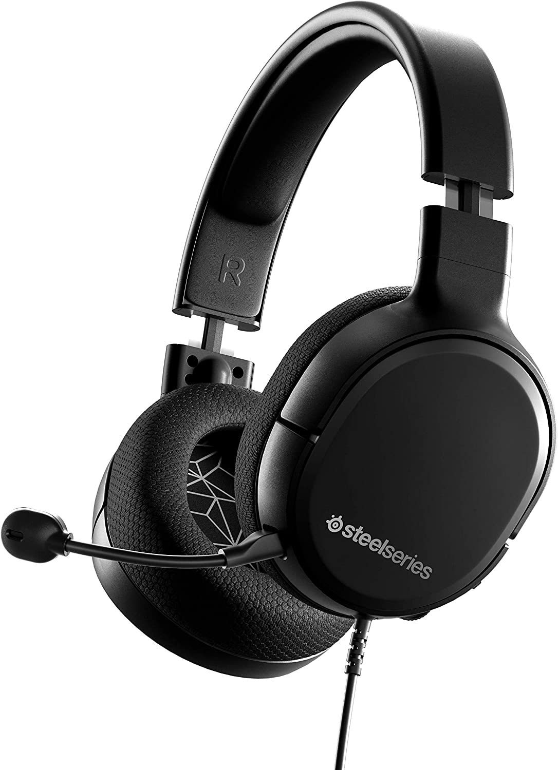 Amazon Com Steelseries Arctis 1 Wired Gaming Headset Detachable Clearcast Microphone Lightweight Steel Reinforced Headband For Pc Ps4 Xbox Nintendo Switch And Lite Mobile Computers Accessories