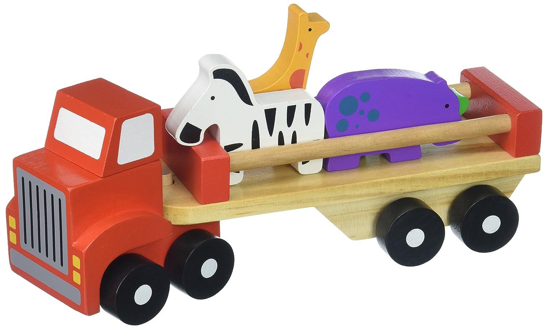 Tooky Toys TKB380 Animal Truck, Multi-Colour
