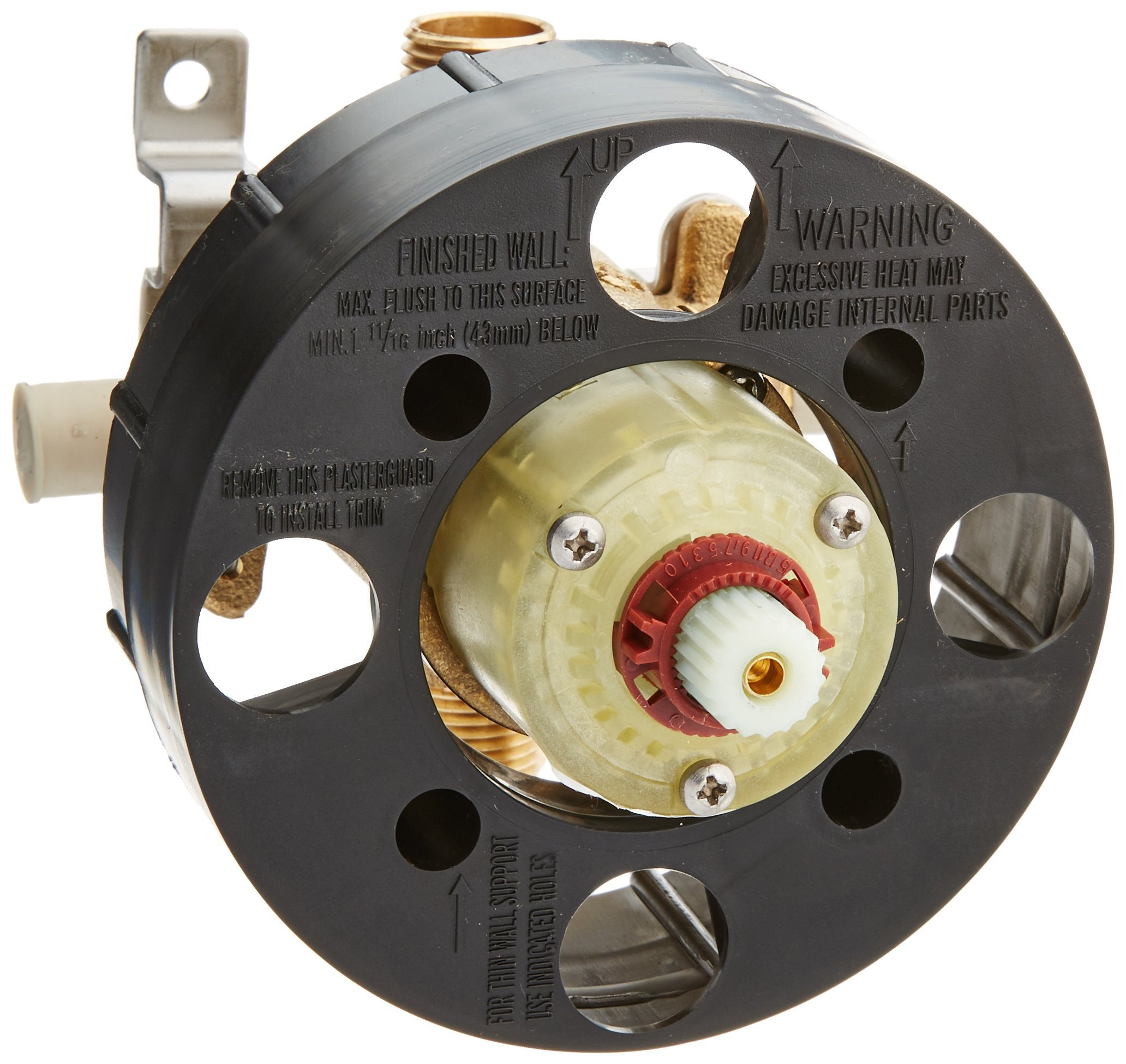American Standard R117R117 Rough Valve Body with 1/2-Inch PEX Inlets/Direct Sweat Outlets
