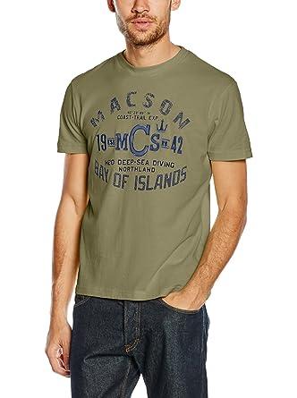 Macson Camiseta Manga Corta Verde 3XL: Amazon.es: Ropa y accesorios