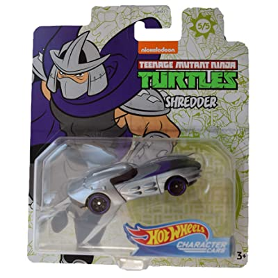 Hot Wheels Character Cars Teenage Mutant Ninja Turtles Shredder #5 of 5 Cars: Toys & Games