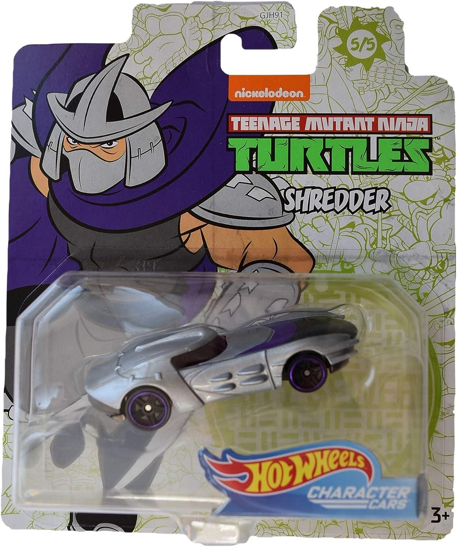 Hot Wheels Character Cars Teenage Mutant Ninja Turtles Shredder #5 of 5 Cars