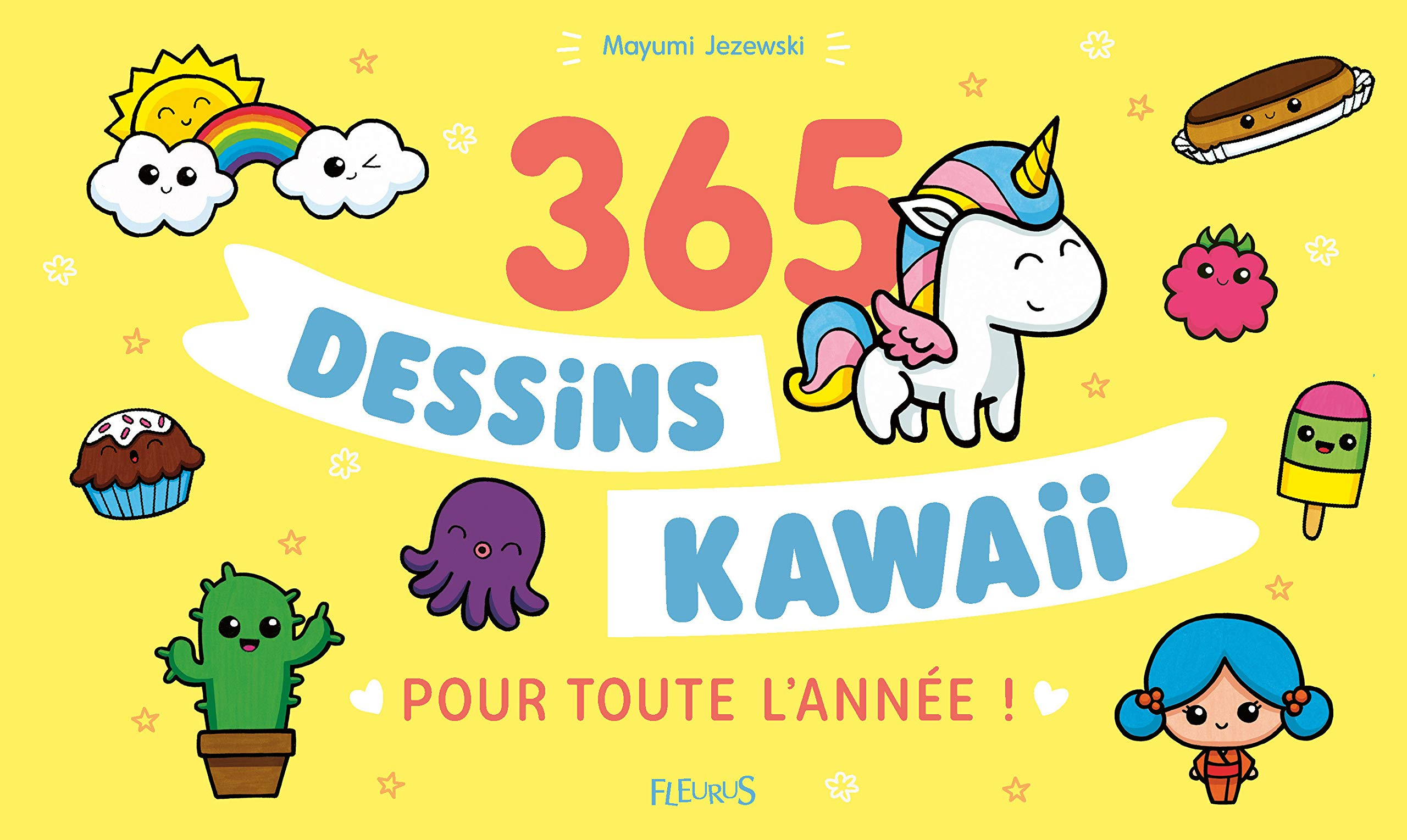 Amazon In Buy 365 Dessins Kawaii Pour Toute L Annee Book