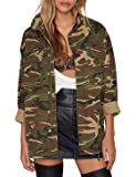 IRISIE Women Military Camo Lightweight Long...