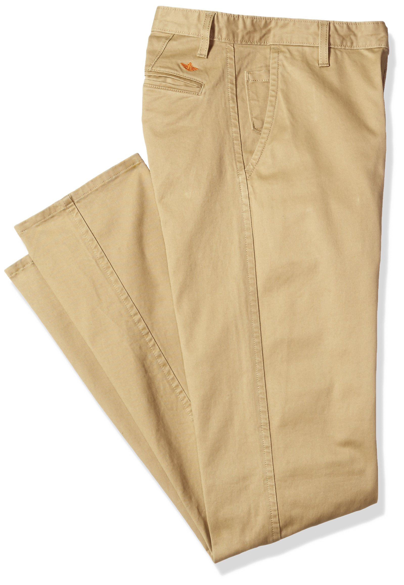 Dockers Men's Big and Tall Modern Tapered Fit Signature Khaki Pants, Cloud (Stretch), 44W x 32L