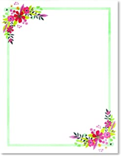 stationery paper perfect for notes letter writing and invitations for bridal shower birthday