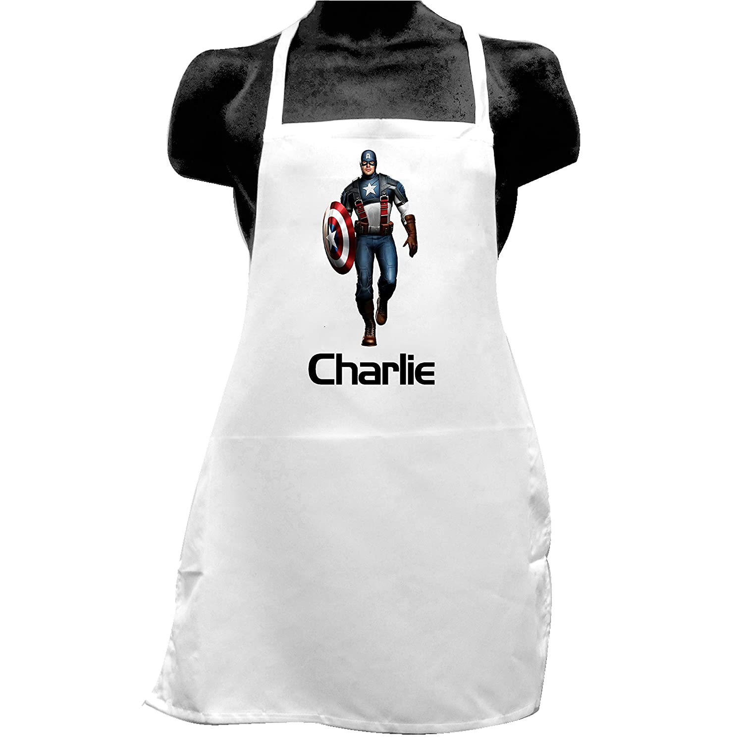 Shires Art Printing Captain America Children's Novelty Apron Unique gift idea