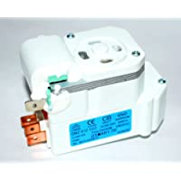 all in 1 Appliances spare parts Plastic LG Double Door Refrigerator with Defrost Timer and Match 4 Pin Connector (White, A0032)