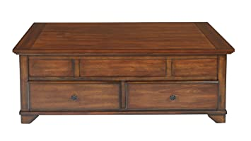 Amazoncom New Classic Lynch Lift Top Cocktail Table Cherry